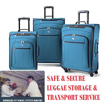 Luggage Storage Facility in Bangalore